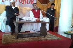 inaugural of spiritual retreat at Gangtok Feb 2016